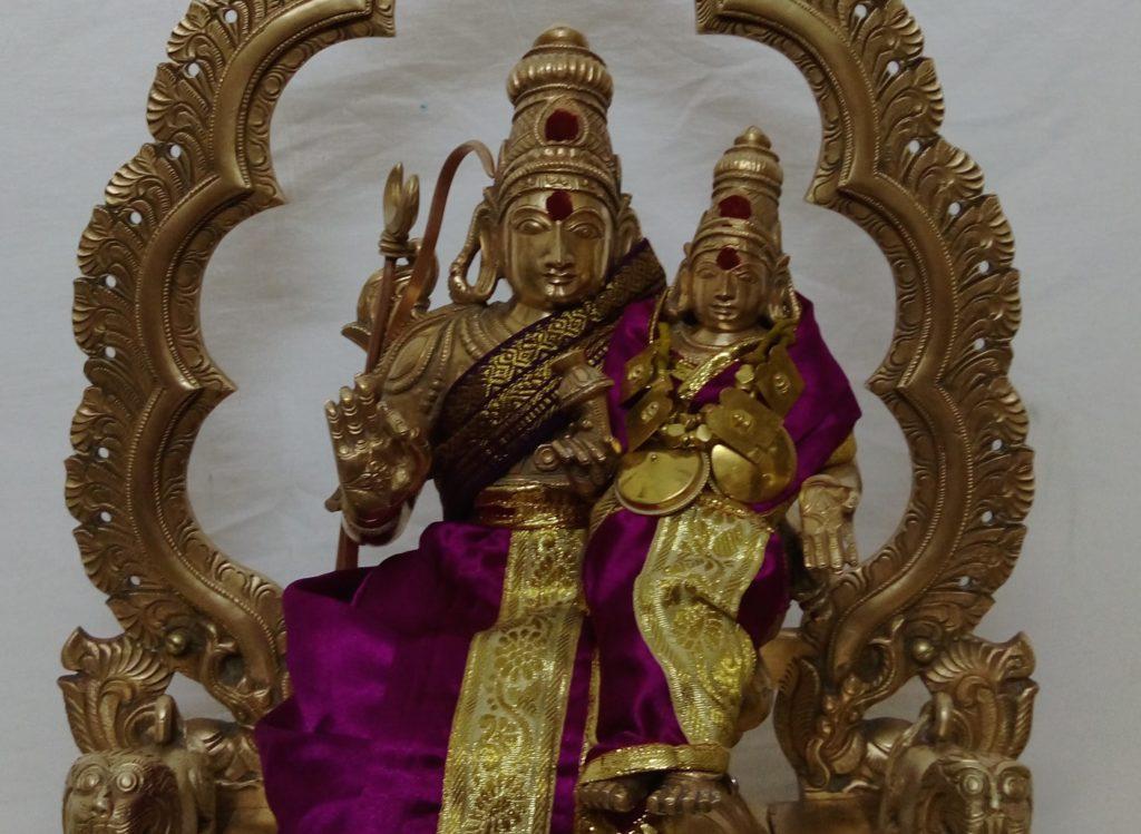 Mangala Pattabhiramar with Sita