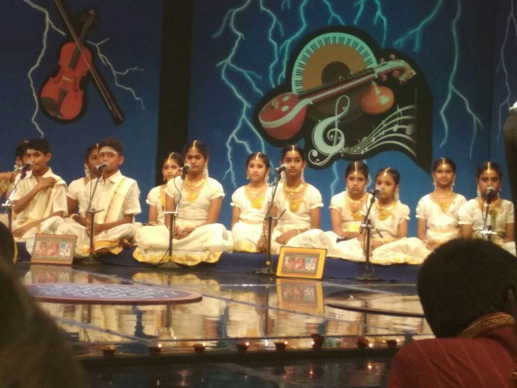 Hamsaanandham singing