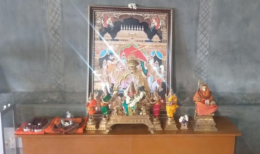 Sri Rama and padukas